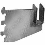 "3"" Blade Bracket For Rectangular Tubing W/ Nylon Stabilizer - Chrome - Pkg Qty 25"