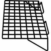 """24""""W X 14""""D Straight Shelf - Semi-Gloss Black - Pkg Qty 6"""