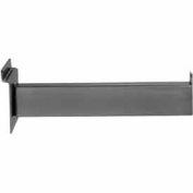 "12"" Faceout - Rectangular Tubing - Semi-Gloss Black - Pkg Qty 24"