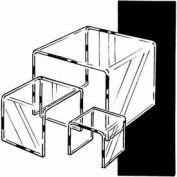 "Set Of 3 Acrylic Display Risers (3"", 5"" & 7"") - Clear - Pkg Qty 6"