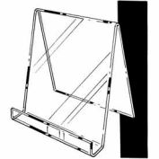 "5-1/2""W X 6""H Easel W/ 1""D Opening - Clear - Pkg Qty 12"