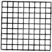 """14""""L X 14""""W Epoxy Coated Grid Cubbies - Black - Pkg Qty 48"""