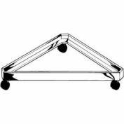 Triangle Base for Grid - Chrome