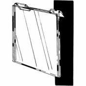 "7""W X 5-1/2""H Acrylic Horizontal For Slatwall/Gridwall - Clear - Pkg Qty 24"