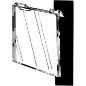 "7""W X 5-1/2""H Acrylic Horizontal For Slatwall/Gridwall - Clear - Pkg Qty 24"