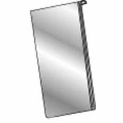 """8-1/2""""W X 11""""H Acrylic Sign Holder Vertical For Slatwall/Gridwall - Clear - Pkg Qty 24"""