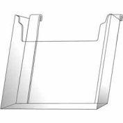 "8-1/2""W X 11""H Acrylic Gridwall Literature Holder - Clear - Pkg Qty 12"