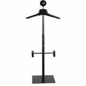Men's Countertop Costumer w/ Hanger - Matte Black