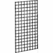 2'W X 4'H - Wire Grid Wall Panel - Chrome - Pkg Qty 3