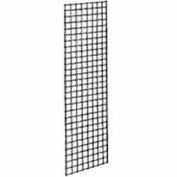 2'W X 7'H - Grid Panel - Chrome - Pkg Qty 3