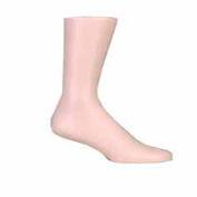 Athletic Men's Sock Display - Fleshtone