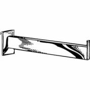 "12"" Rectangular Tubing Face-Out - Chrome - Pkg Qty 24"