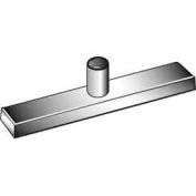 "Patented Magnetized Clamp W/ 1/4"" And 3/8"" Fitting - Chrome - Pkg Qty 100"