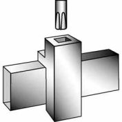 "Patented Magnetized Clamp W/ 3/8"" Swedged Fitting - Chrome - Pkg Qty 100"