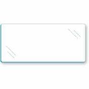 "Tempered Glass Shelves - 48""W x 10""D - Pkg Qty 5"