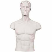 Male Shoulder Caps - Set - White - Pkg Qty 5