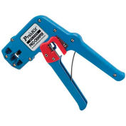 Eclipse Tools 300-037 Economy Modular Plug Crimper, For Use W/4, 6 & 8 Position Plugs, Blue