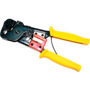 Eclipse Tools 300-078 Economy All in One Modular Plug Crimper For  W/4 & 6 Position Modular Plugs Yw