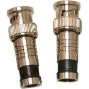 Eclipse Tools 705-008-BK BNC Connector RG59, Black, 100/Pk