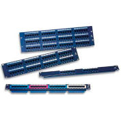 Eclipse Tools 7P-48TK11CEC-BK CAT5e Patch Panel, Straight Entry, 48 Ports, 48 Inputs