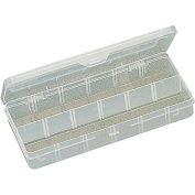 "Eclipse 900-039 - 12 Adjustable Plastic Compartment Box 10""L x 4-3/4""W x 1-1/2""H"