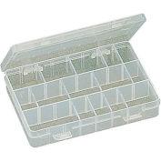 "Eclipse 900-041 - 24 Adjustable Plastic Compartment Box w/Dividers 8""L x 5-1/4""W 1-1/2""H"