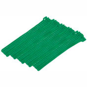 """Eclipse Tools 900-098-GN Cable Tie, Hook Tape, 8""""L x 1/2""""W, Green, 25/Pk"""