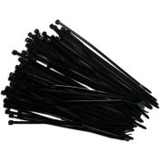 "Eclipse Tools 902-023 Cable Tie, 7-7/8"" x 1/7"", Black, 100 Pcs"