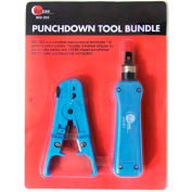 Eclipse Tools 902-353 110 Punchdown Tool Bundle, Blue