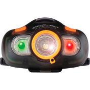 Eclipse 902-466 - LED Headlight w/ White, Red, Green CREE XP-C Transparent Black
