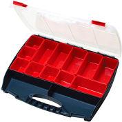 "Eclipse SB-4536B - 3 to 14 Adjustable Compartment Storage Box, 17-3/4""L x 14-1/4""W x 3""H"