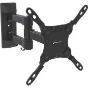 "GForce® Full Motion Tilt & Swivel Dual Arm TV Wall Mount for 13""-42"" LED/LCD TV's"
