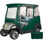 Eevelle 2 Passenger Yamaha Drivable Golf Cart Enclosure, Jet Black - GLEYDB02