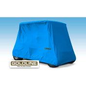 Eevelle Goldline Marine Grade Fabric 4 Passenger Storage Cover, Blue - GLGL04RB