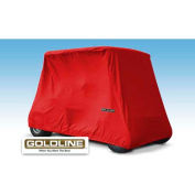 Eevelle Goldline Marine Grade Fabric 4 Passenger Storage Cover, Red - GLGL04RD