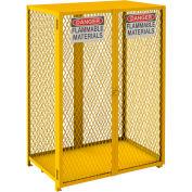 Durham Vertical Cylinder Storage Cabinet EGCVC12-50 Manual Close, Holds 12 50 Lb. Cylinders