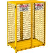 Durham Vertical Cylinder Storage Cabinet EGCVC12-SC-50 Self Close, Holds 12 50 Lb. Cylinders