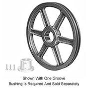 Browning Cast Iron, 2 Groove, Split Taper B Sheave, 2TB70