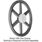 Browning FHP, Bushed, Cast Iron, 2 Groove Sheave, 2BK120H