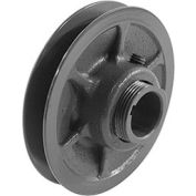 """Single-Groove Variable Pitch Sheave, 1/2"""" Bore, 3.15"""" O. D., 1VP34X1/2"""