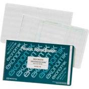 "Ekonomik® Check Register Book, 20 Columns, 14-3/4"" x 8-3/4"", White, 1 Each"