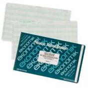 "Ekonomik® Check Register Book, 5 Credit/15 Expense Columns, 14-3/4"" x 8-3/4"", White, 1 Each"