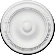 "Ekena Maria Ceiling Medallion CM09MA, 9-5/8""OD x 1-1/8""D"