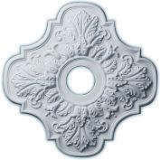 "Ekena Peralta Ceiling Medallion CM17PE, 17-3/4""OD x 3-1/8""ID x 1""D"
