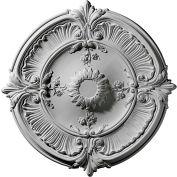 "Ekena Attica Acanthus Leaf Ceiling Medallion CM30AT, 30-1/8""OD"