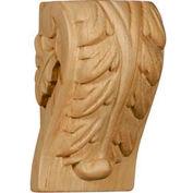 "Ekena Extra Large Acanthus Pilaster Corbel CORW07X04X27PAMA, 6-3/4""W x 4-1/4""D x 27-1/2""H"