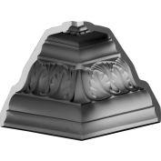 "Ekena Inside Corner For Moulding MLD06X05X08TI MIC05X06TI, 5-1/8""D x 6-7/8""H"