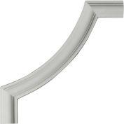 """Ekena Ashford Smooth Panel Moulding Corner PML12X12AS, 12""""W x 12""""H x 1/2""""D"""