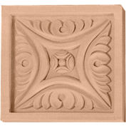 "Ekena Small Middlesborough Rosette ROS03X03X00MDLW, 3""W x 3""H x 5/8""D"