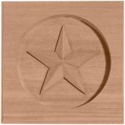 """Ekena Austin Star Rosette ROS07X07AUCH, 7""""W x 7""""H x 1""""D"""
